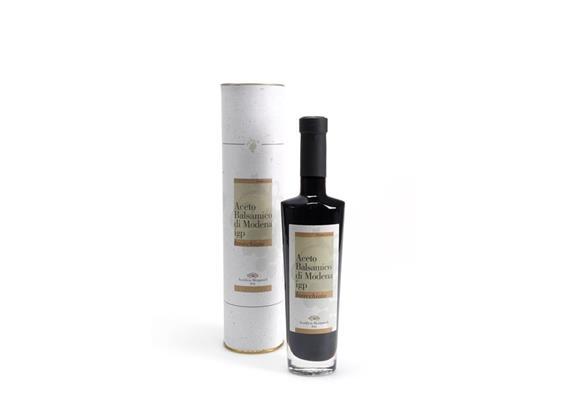 Aceto balsamico di Modena IGP tubo bianco invecchiato, 250 ml, Mengazzoli