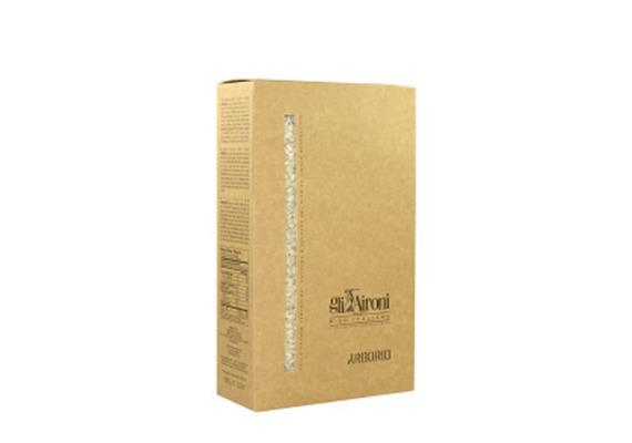 Arborio, box, vacuum pack, 1 kg, Gli Aironi