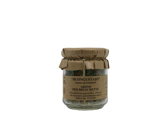 Aromi per bruschette, 80 g, Sarubbi