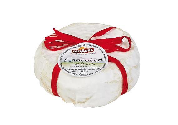 Camembert di bufala, 250 g, Castagna