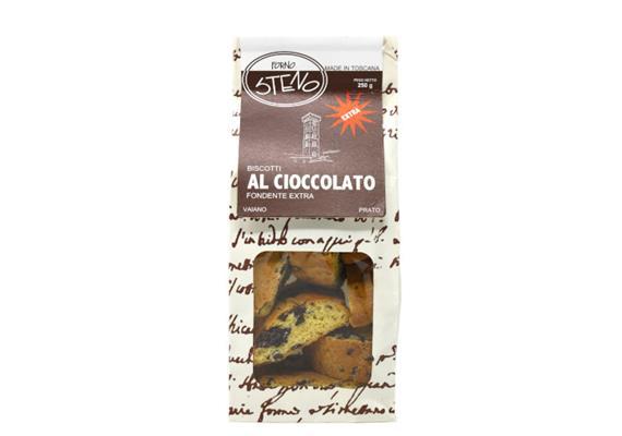 Cantucci al cioccolato, 250 g, Forno Steno