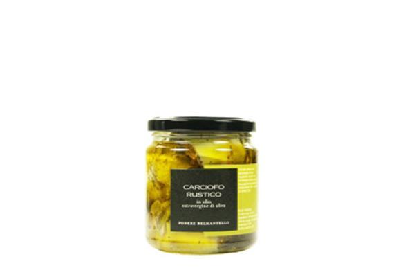 Carciofi rustici, in olio extravergine, 314 ml, Belmantello