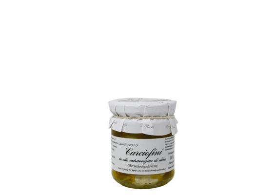 Carciofini in olio extravergine, 180 g, Riolfi