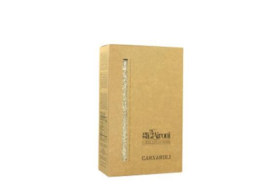 Carnaroli, box, 1 kg, vacuum pack, Gli Aironi