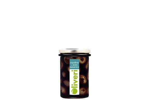 Cipolline in aceto balsamico, 190 g, Oliveri