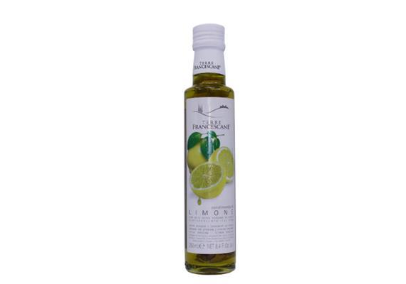 Condimento aromatizzato al limone in olio extravergine di oliva, 250 ml, Cufrol