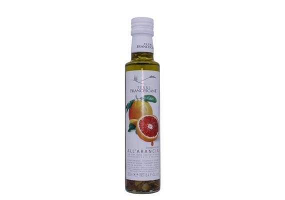 Condimento aromatizzato all' arancia in olio extravergine di oliva, 250 ml, Cufrol