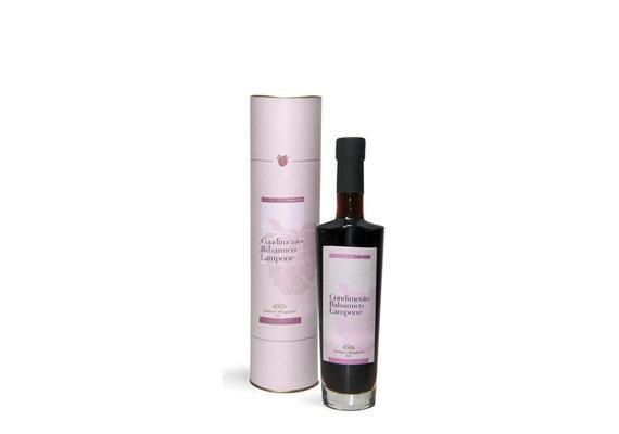 Condimento balsamico lampone barricato, 250 ml, Mengazzoli