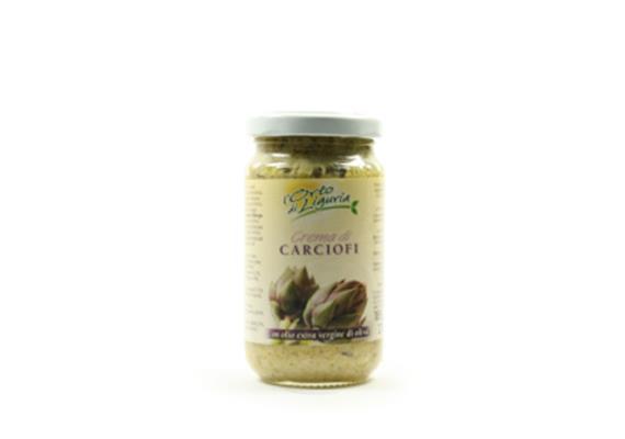 Crema di carciofi in olio extravergine di oliva, 185 g, L' Orto di Liguria