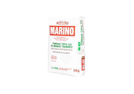 """Farina di grano tenero """"00"""" bio 5000 g, Mulino Marino"""
