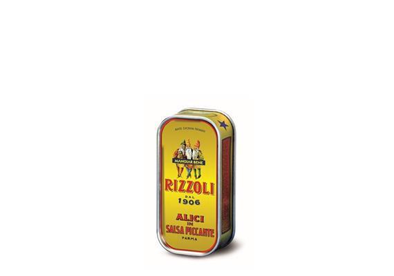 Filetti di alici in salsa piccante, 90 g, Rizzoli Emanuelli