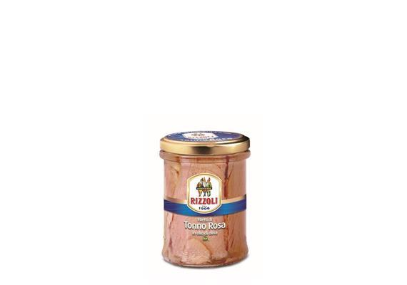 Filetti di Tonno rosa in olio di oliva (Yellowfin), 200 g, Rizzoli Emanuelli