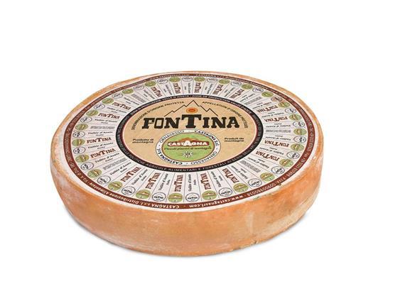 Fontina DOP, 2 kg, Castagna