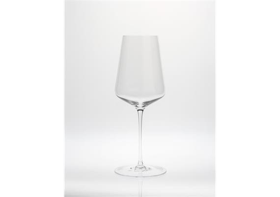 Glas für Weißwein, mundgeblasen, Sophienwald