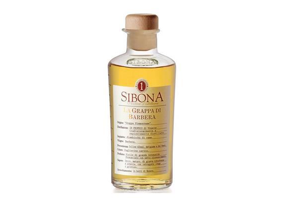 Grappa di Barbera 40% Vol., 500 ml, Sibona