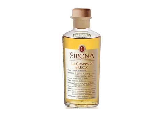 Grappa di Barolo invecchiata, 40% Vol., 500 ml, Sibona