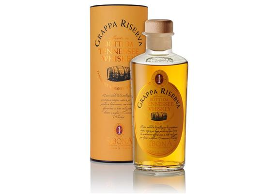 Grappa Riserva Botti daTennessee Whiskey 44% Vol., 500 ml, Sibona