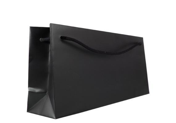 Kordeltragetasche schwarz, Thalmann