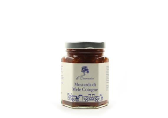 Mostarda di mele cotogne, 120 g, Le Tamerici
