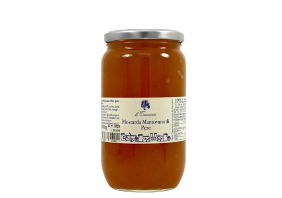 Mostarda di pere, 1 kg, Le Tamerici