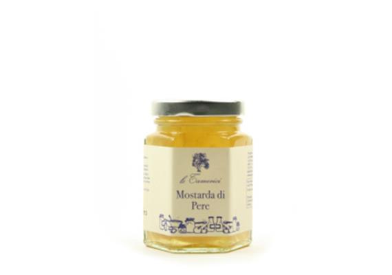 Mostarda di pere, 120 g, Le Tamerici