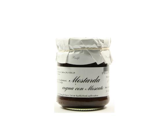 Mostarda piemontese al Moscato, 200 g, Riolfi