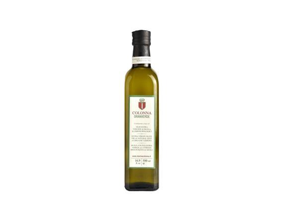 Olio extravergine Granverde ai limoni, 500 ml, Colonna Marina