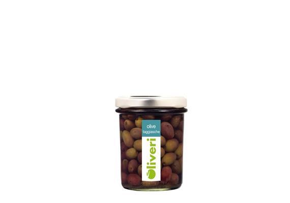 Olive taggiasche salamoia, 200 g, Oliveri