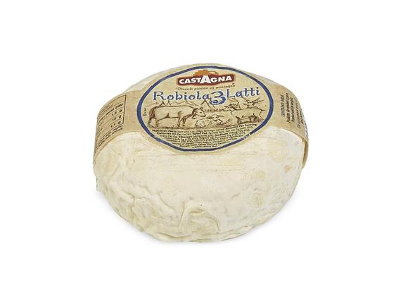 Robiola 3 latti, 300 g, Castagna