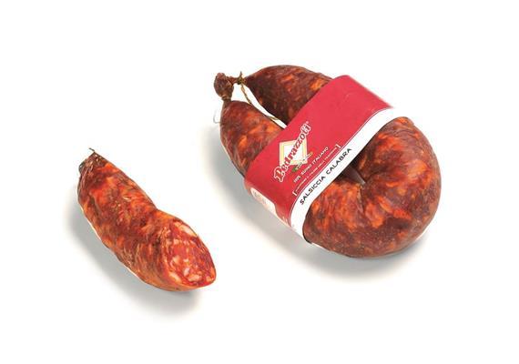 Salsiccia piccante curva, 500 g, Pedrazzoli