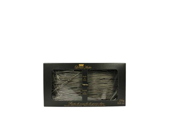 Tagliatelle di semola con nero di seppia, 250 g, Antica Madia