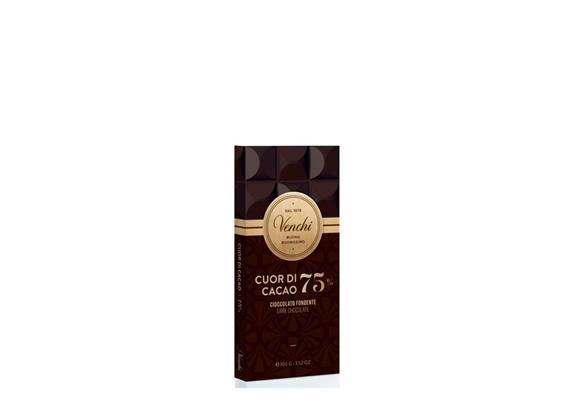 Tavoletta Cuor di Cacao, 75%, 100 g, Venchi