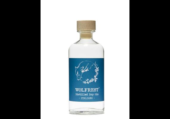 Wolfrest distilled Dry Gin, 43% Vol, 500 ml, Wolfrest